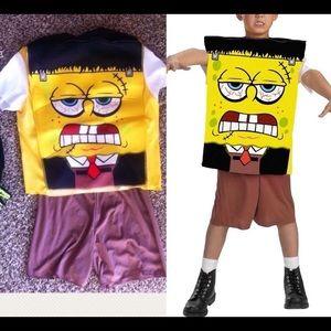 SOLD Spongebob Frankenstein Halloween Costume Kids